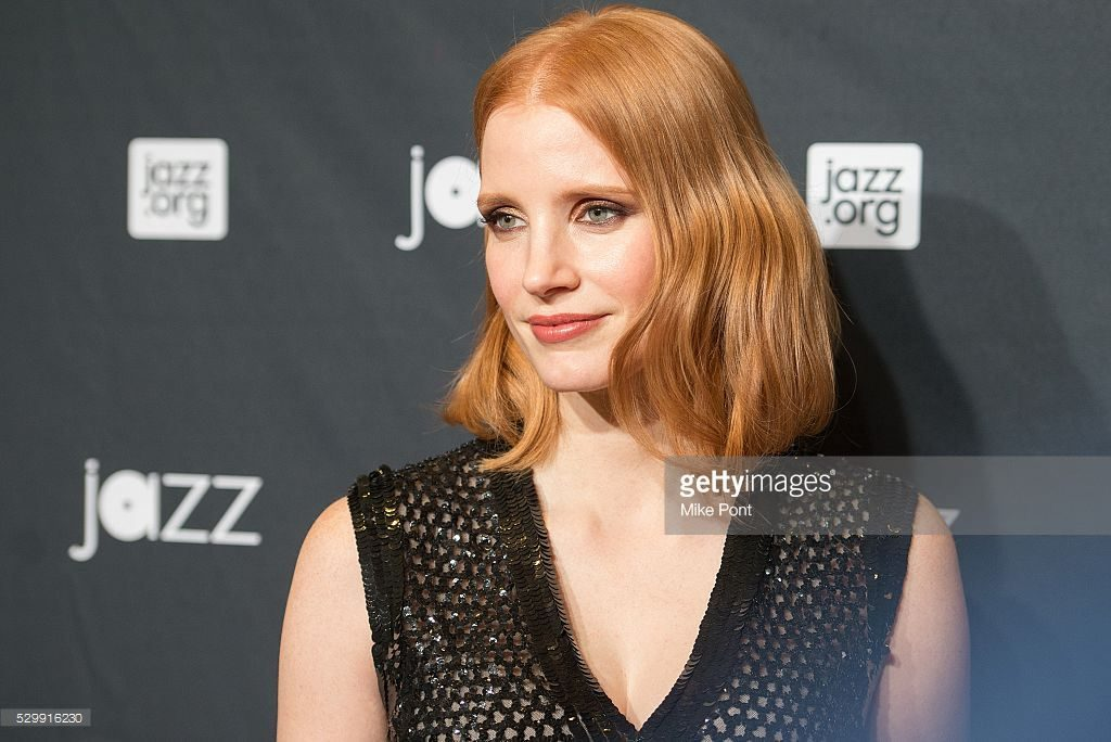 Actress Jessica Chastain attends the Jazz At Lincoln Center 2016 Gala at Jazz at Lincoln Center