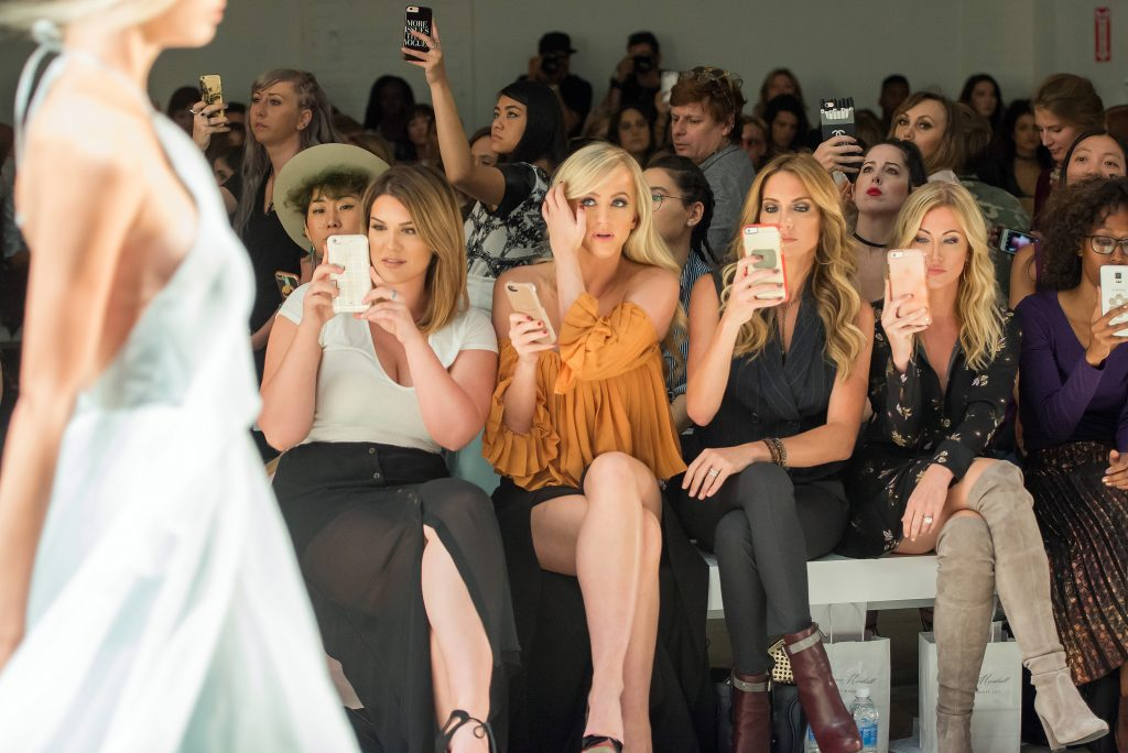 NEW YORK, NY - SEPTEMBER 12: Marissa Stacey, WWE Diva Summer Rae, Cary Deuber and Stephanie Hollman attend the Leanne Marshall fashion show during New York Fashion Week September 2016 at The Gallery, Skylight at Clarkson Sq on September 12, 2016 in New York City. (Photo by Mike Pont/WireImage) *** Local Caption *** Cary Deuber;Stephanie Hollman;Marissa Stacey;Summer Rae