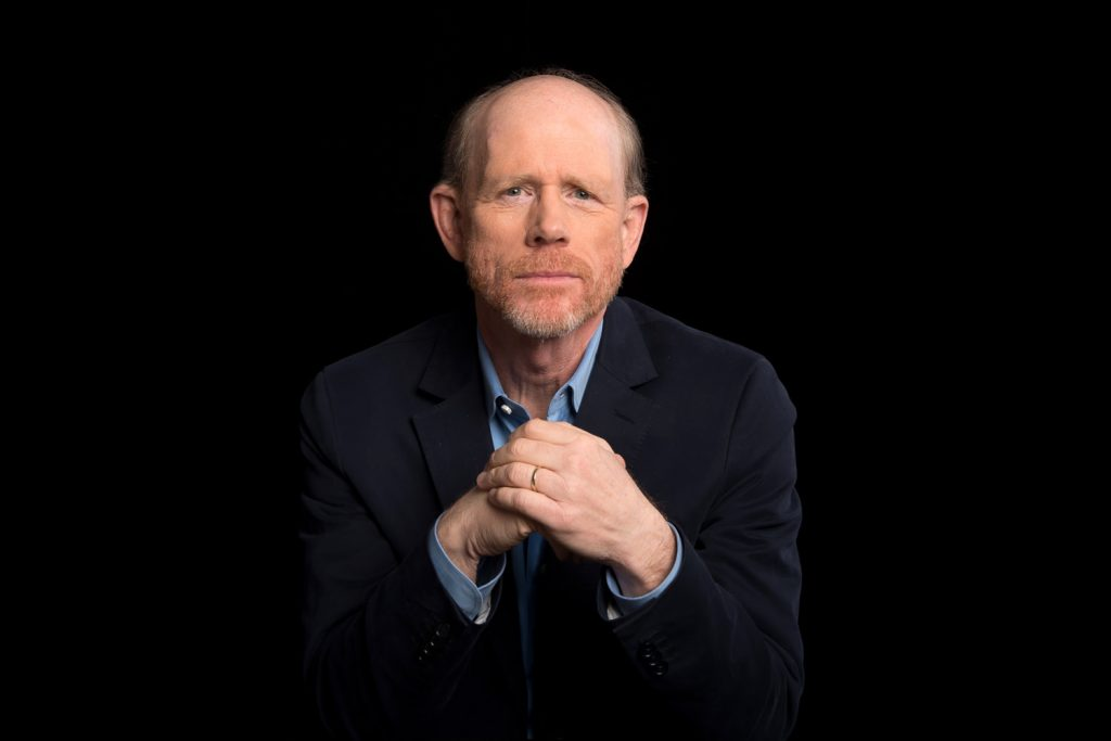 Ron Howard. October 27th 2016.